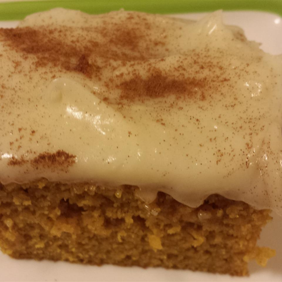 Pumpkin Bars with Cream Cheese Frosting Casablancaise