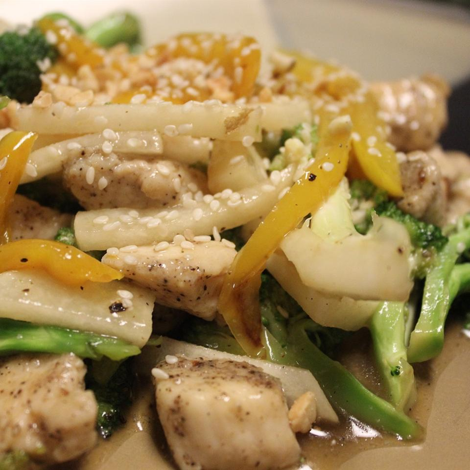 Asian-Style Chicken and Vegetables mommyluvs2cook
