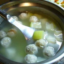 Winter Melon Meatball Soup mal