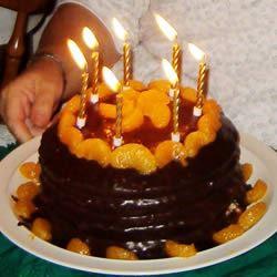Decadent Chocolate Orange Cake Gerry & Detty Edgecombe