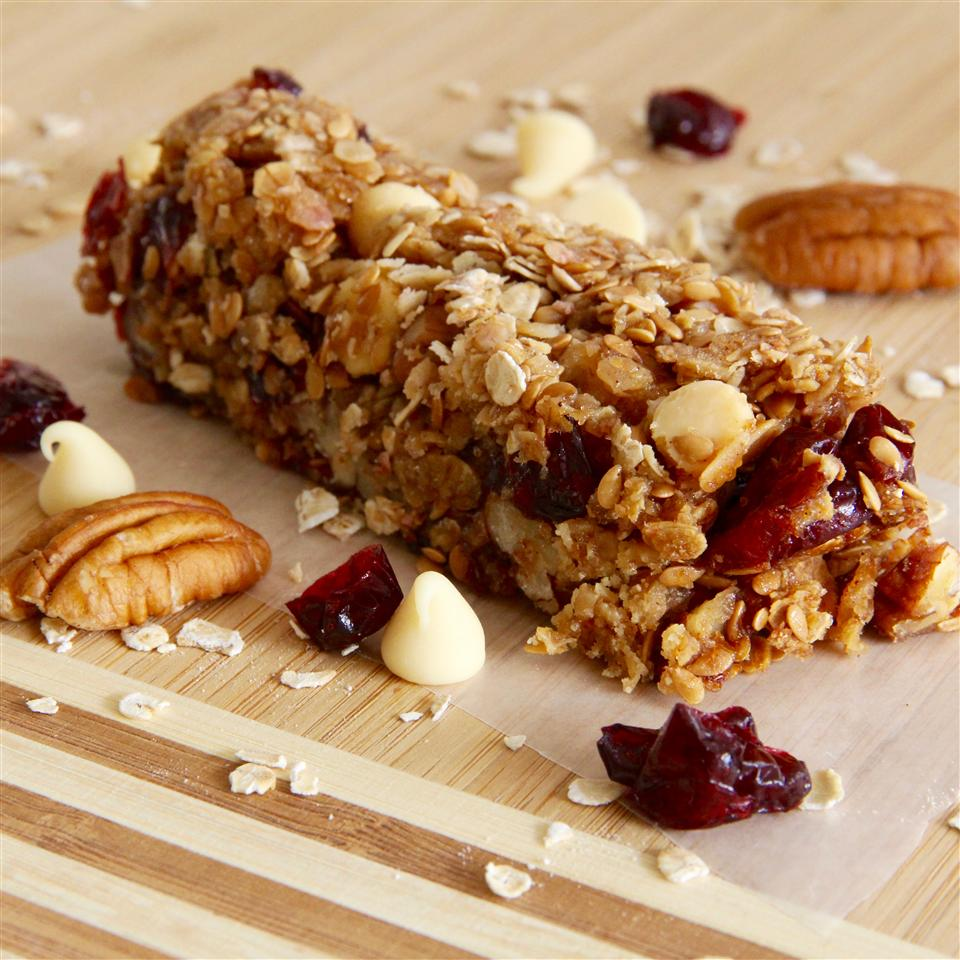 Cranberry Nut Oatmeal Granola Bars