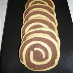 Chocolate Pinwheel Cookies LeadHeaded