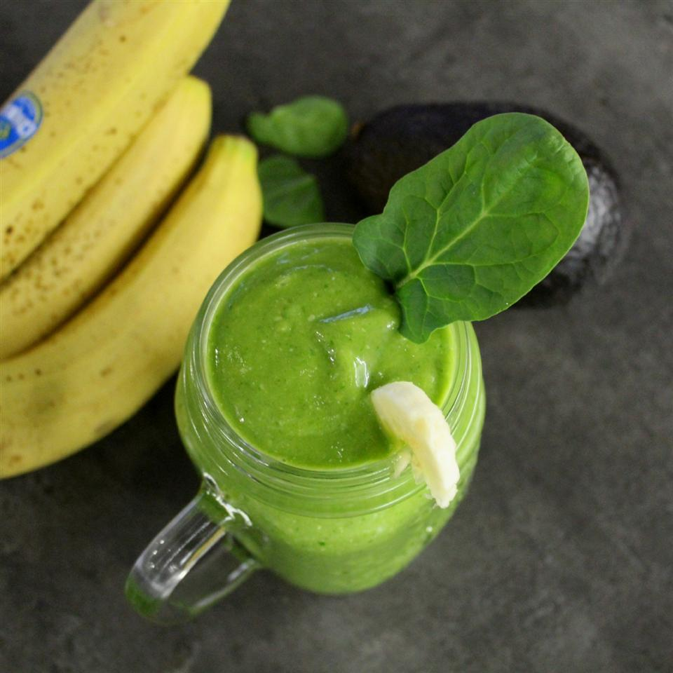Green Smoothie with Maca Powder
