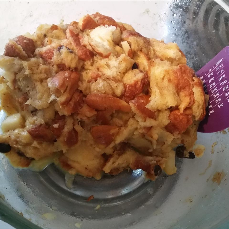 Microwave Raisin Bread Pudding Moody ChickenRice