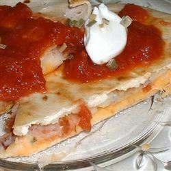 Mashed Potato Quesadilla Erimess