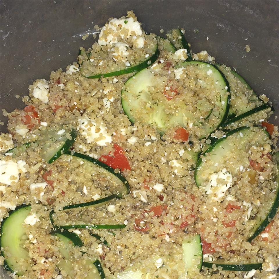 Quinoa Summer Salad with Feta Bugg Kimberly D