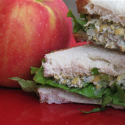 Vegetarian Chickpea Sandwich Filling