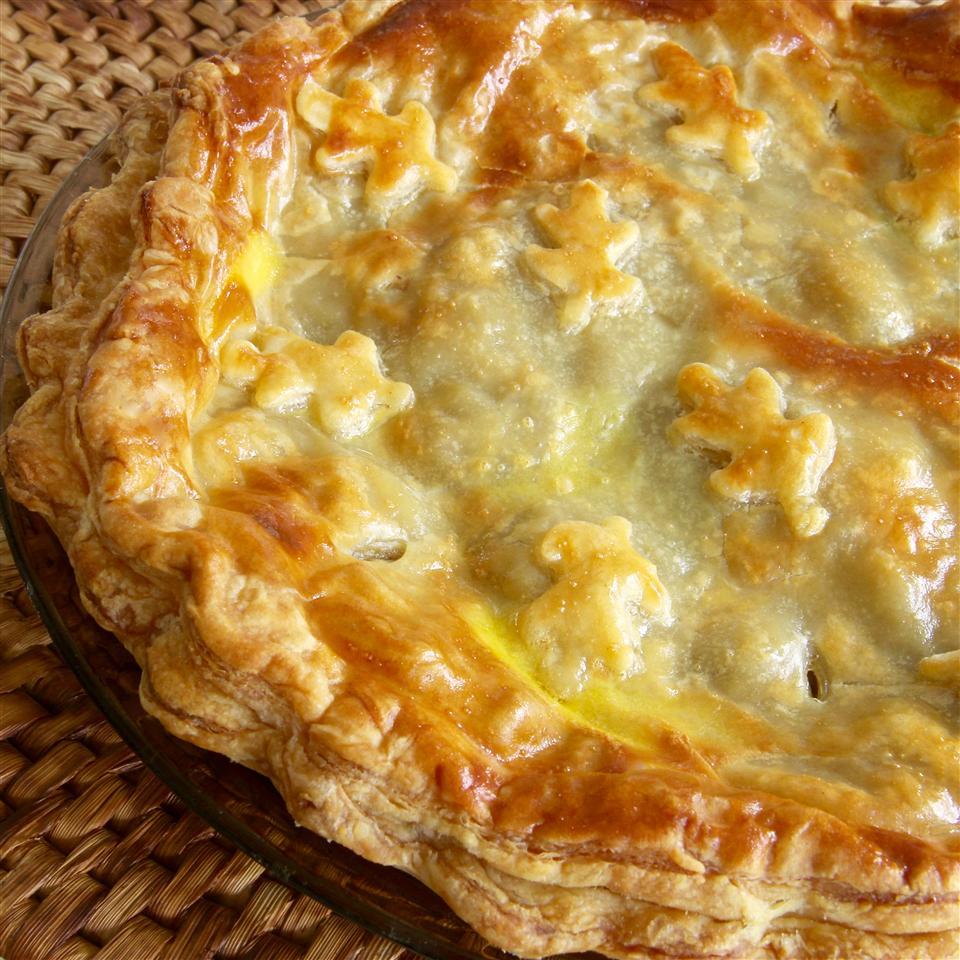 Elegant Mushroom Pie Recipe lutzflcat