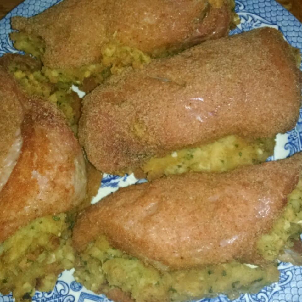 Oven-Baked Stuffed Pork Chops Audra K Holland
