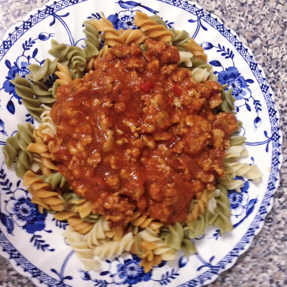 Southern-Style Meat Sauce Noelle C