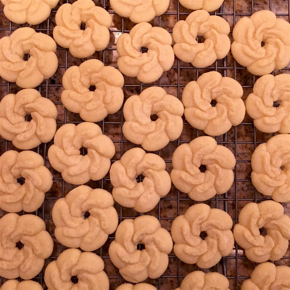 Butter Rich Spritz Butter Cookies Brittanie Leibold