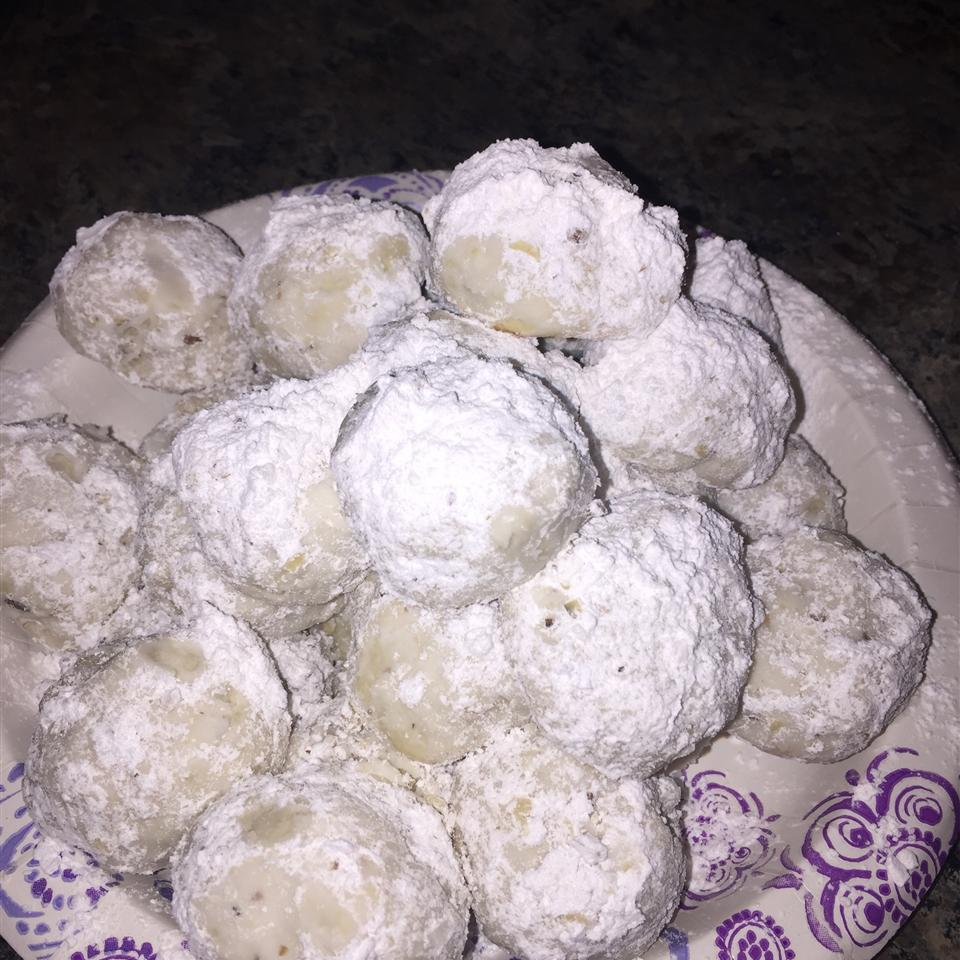 Cream Cheese Snowball Cookies Nicole  B
