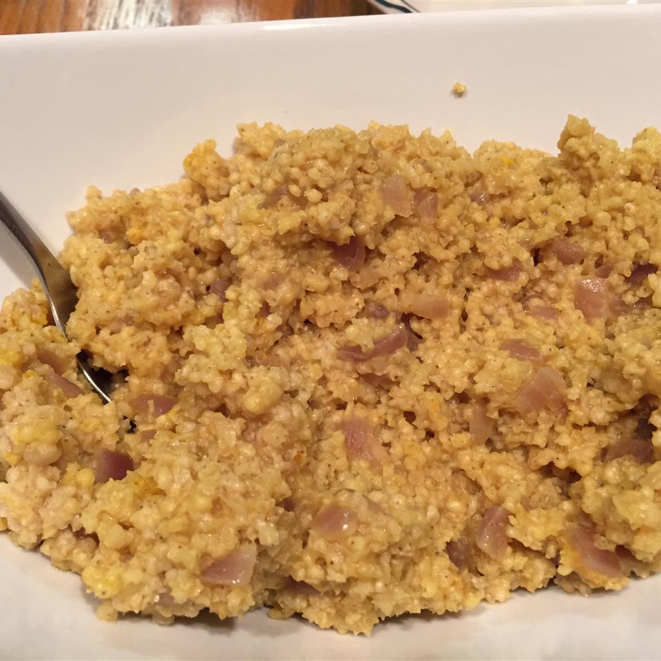 Vegan Curried Millet jengross