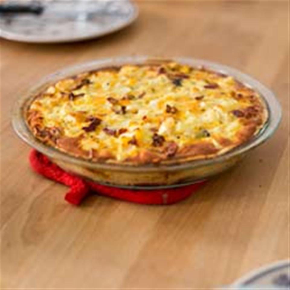 ORE-IDA Sweet and Savory Bacon Quiche