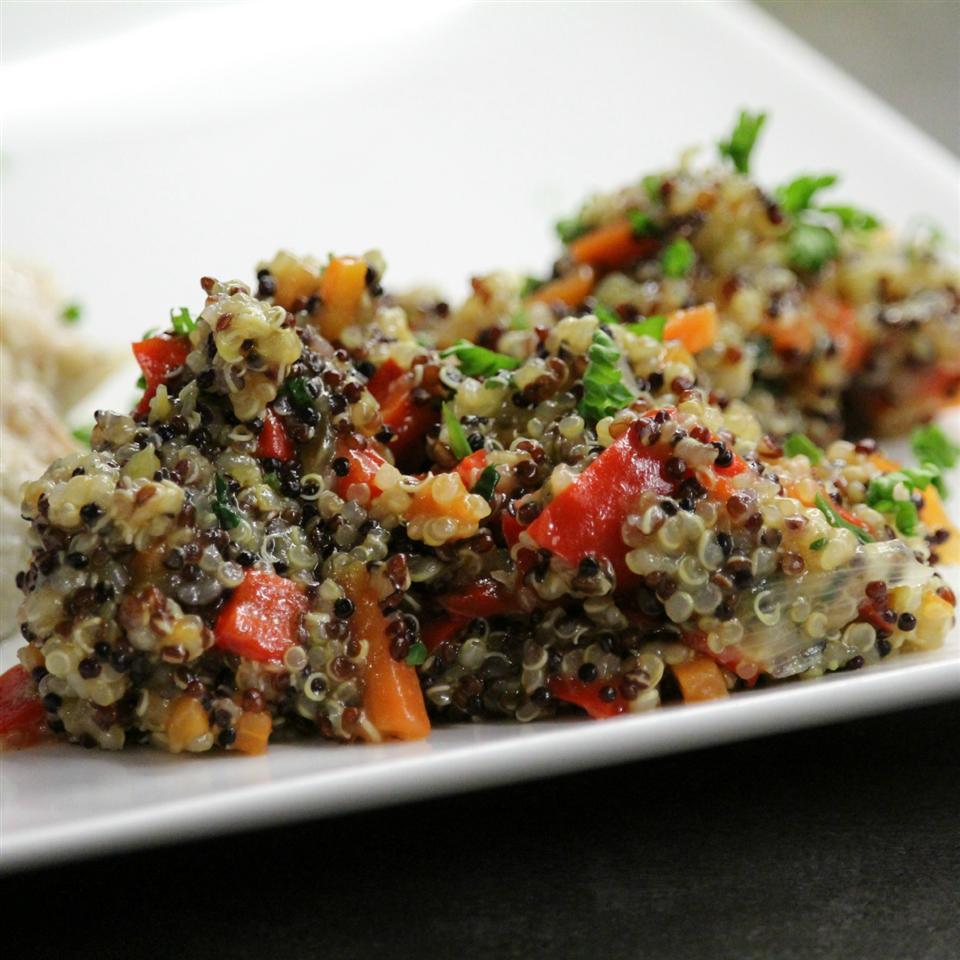 Quinoa and Pepper Pilaf Buckwheat Queen