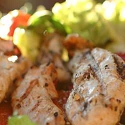 accidental grilled chicken salad recipe