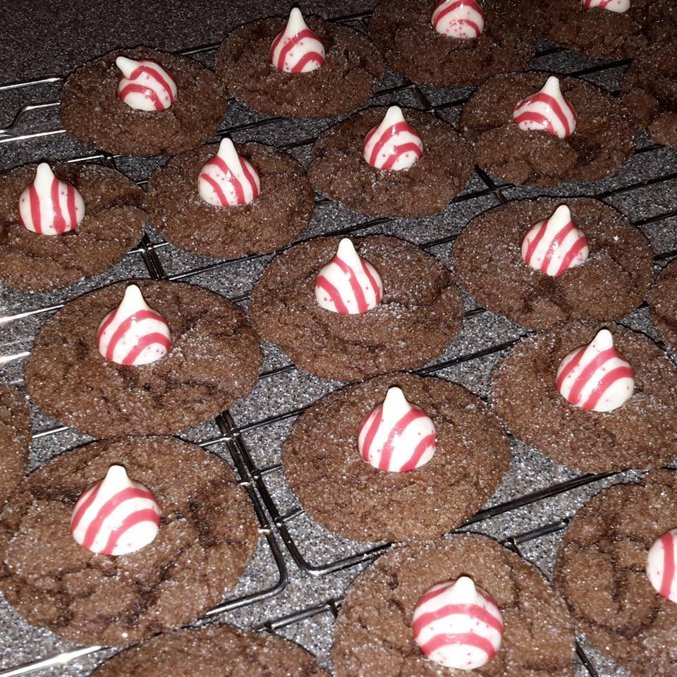 Jeanne's Chocolate Kiss Cookies