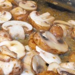 Mushrooms in White Wine Sauce