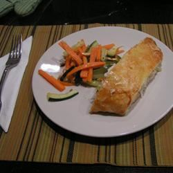 Stuffed Fish in Puff Pastry Cindy
