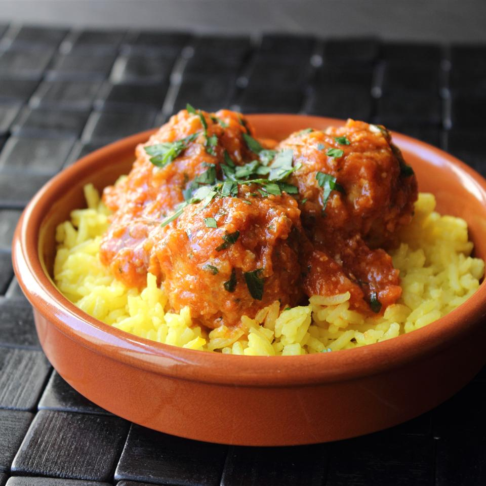 Turkey and Rice Meatballs (Albondigas)