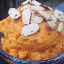 Mashed Sweet Potatoes by Jean Carper