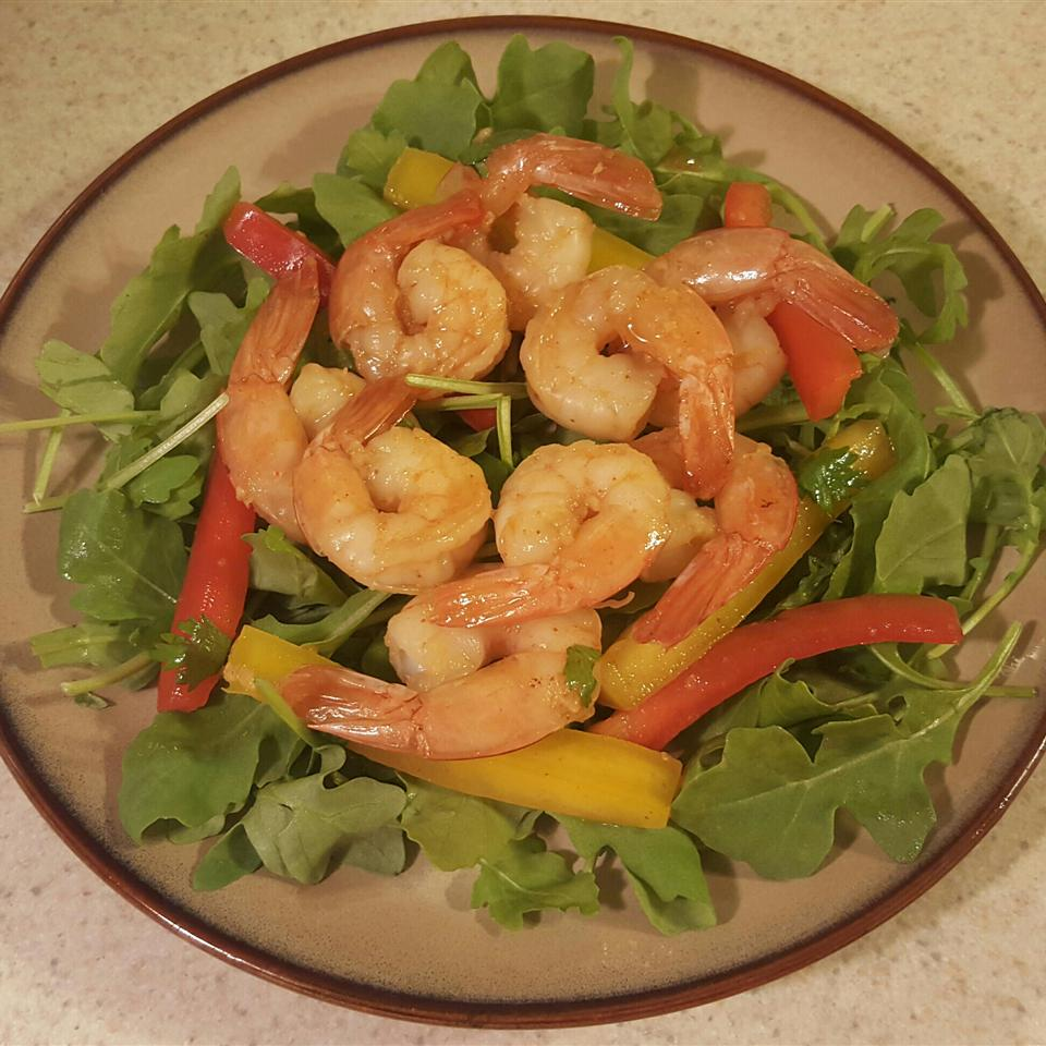 Spicy Thai Shrimp Salad KellyDB