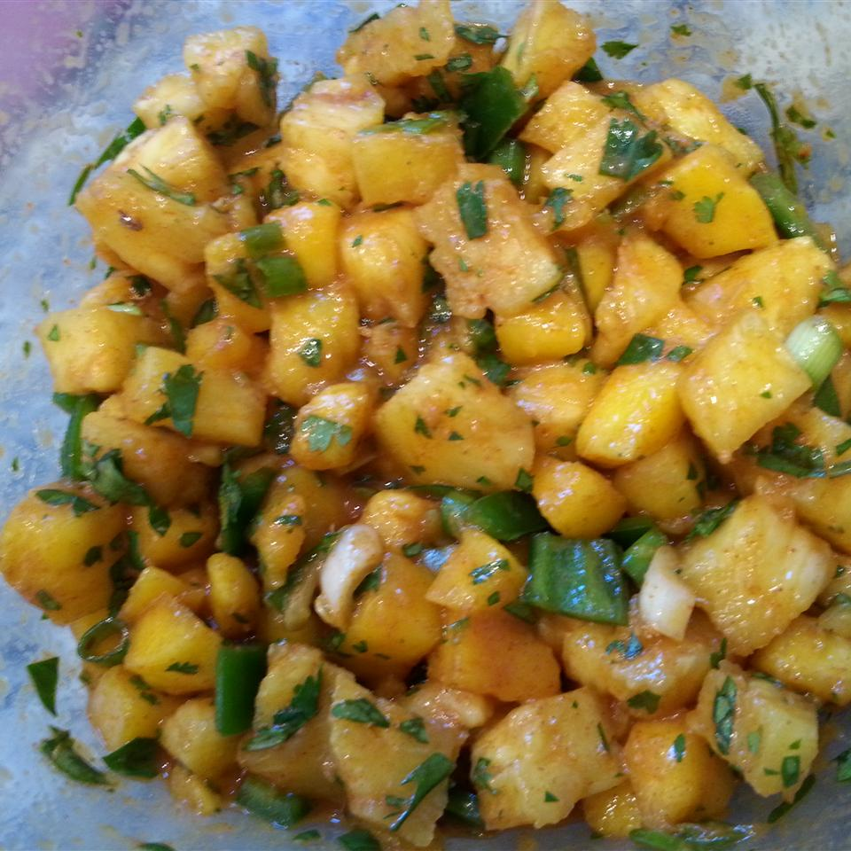 Pineapple and Mango Salsa just_jam
