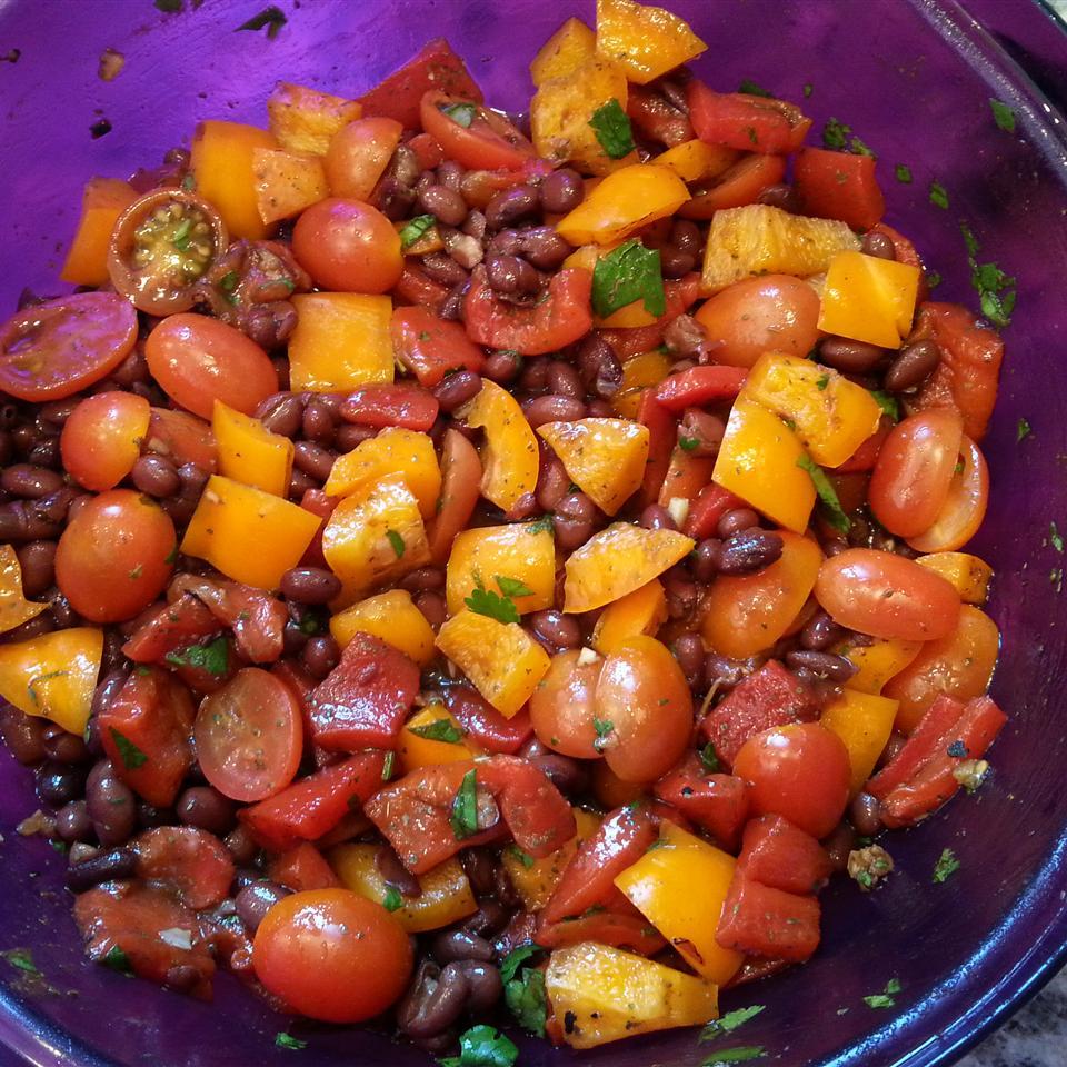 Sweet Pepper Balsamic Bean Salad just_jam