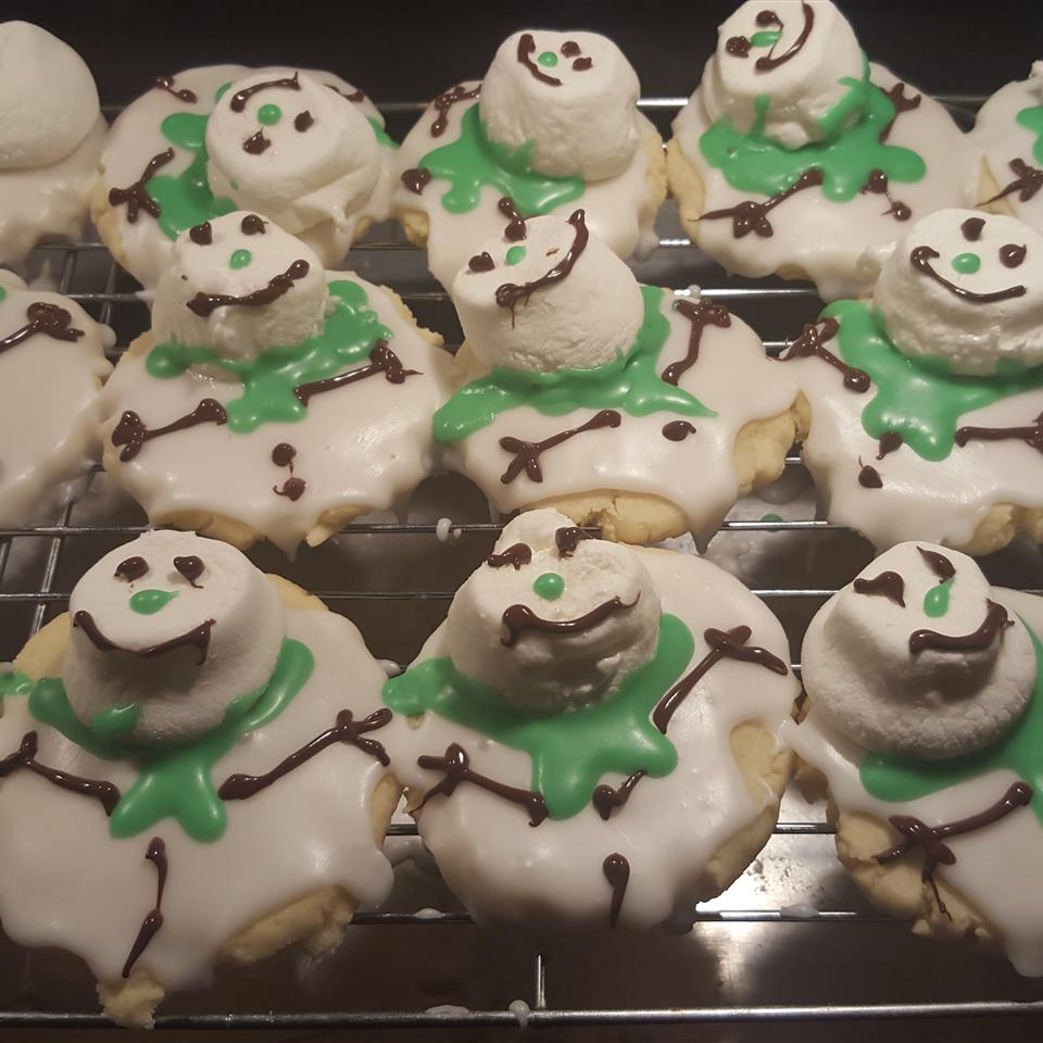 Melted SnowMan Cookie Ed Dickison