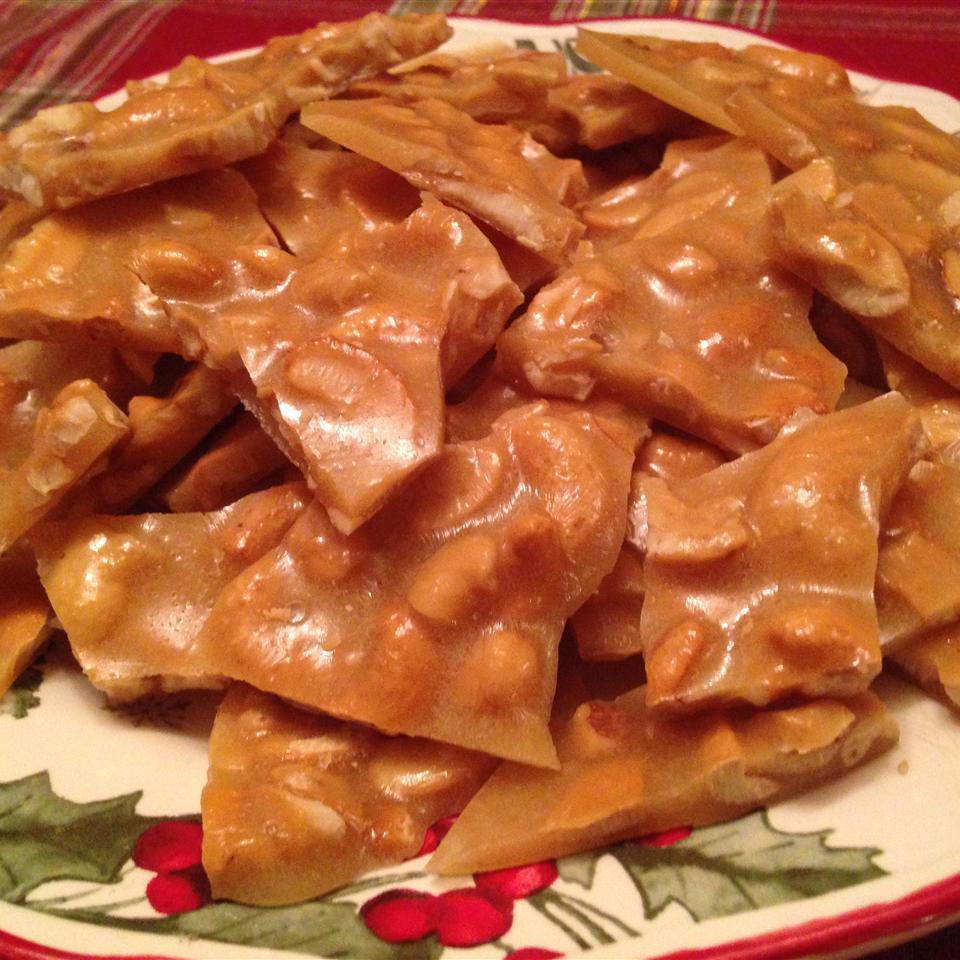 Microwave Oven Peanut Brittle Marites