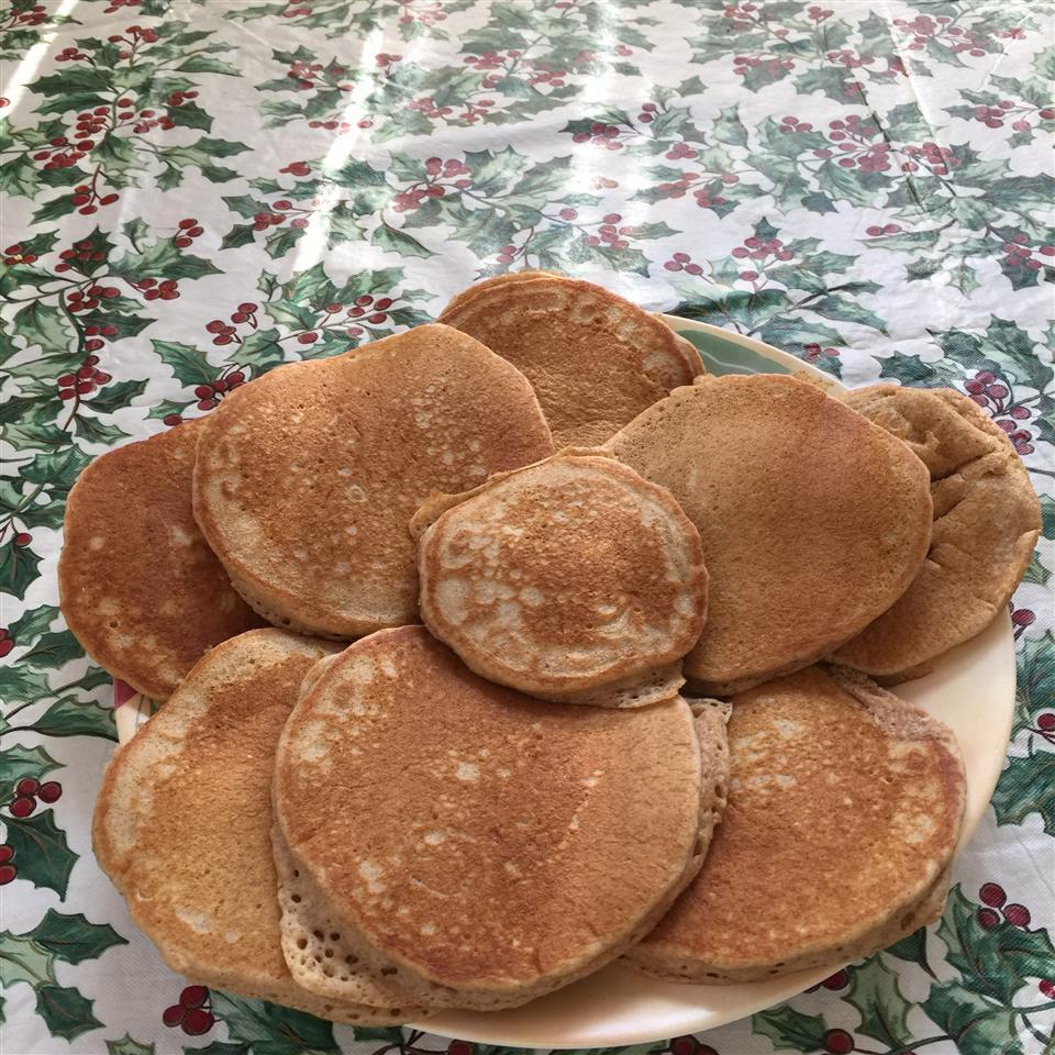 Whole Wheat Chocolate Chip Pancakes Christina