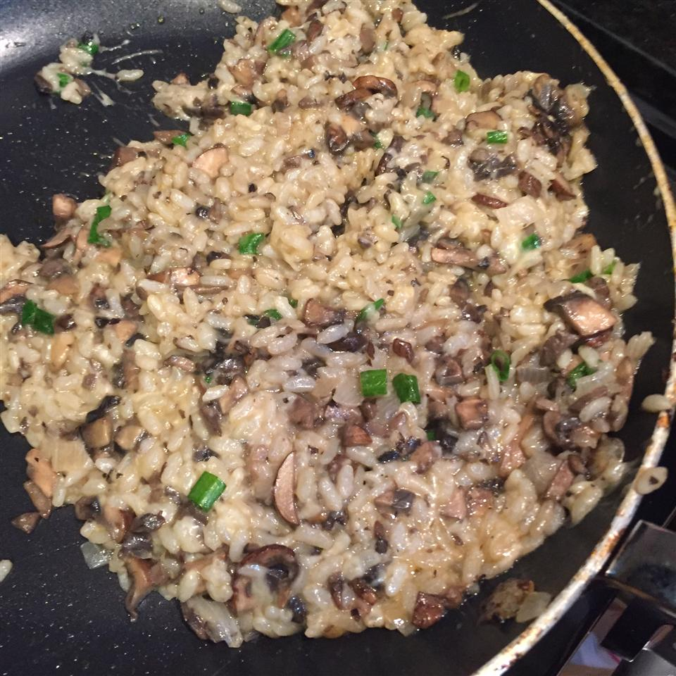 Gourmet Mushroom Risotto Courtney