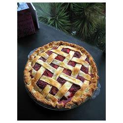 Strawberry Rhubarb Pie FIREFLY70