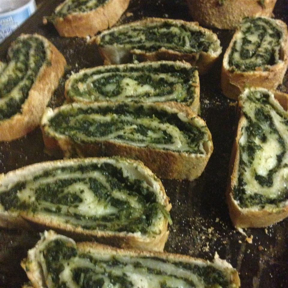 Quick and Easy Spinach Bread JordynHali