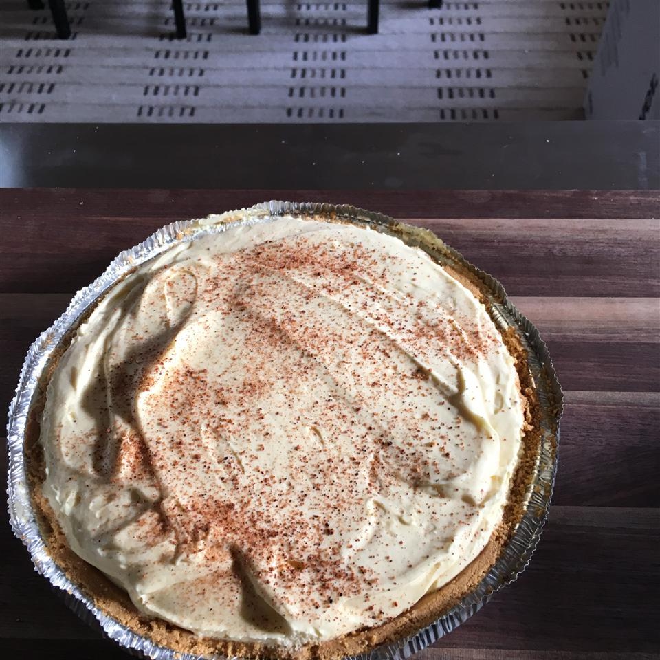Yummy Eggnog Pie Coy Herrin