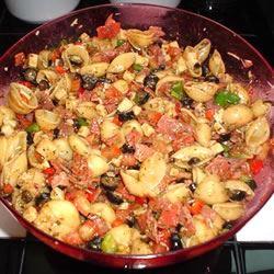 Antipasto Pasta Salad Stacey Seufert