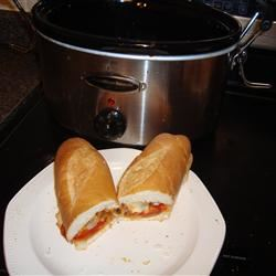Slow Cooker Sausage with Sauce