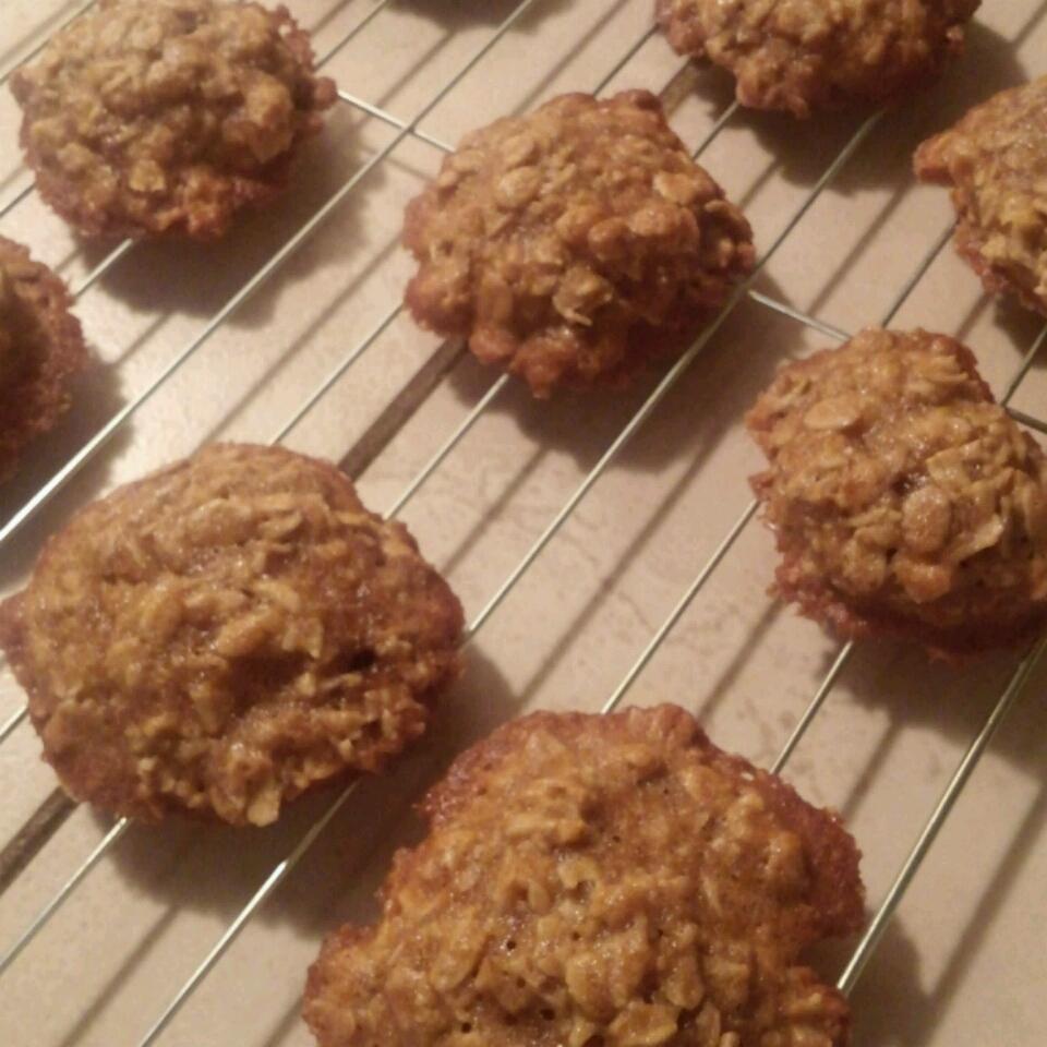 Old Fashioned Oatmeal Cookies III GoJohnnyGo