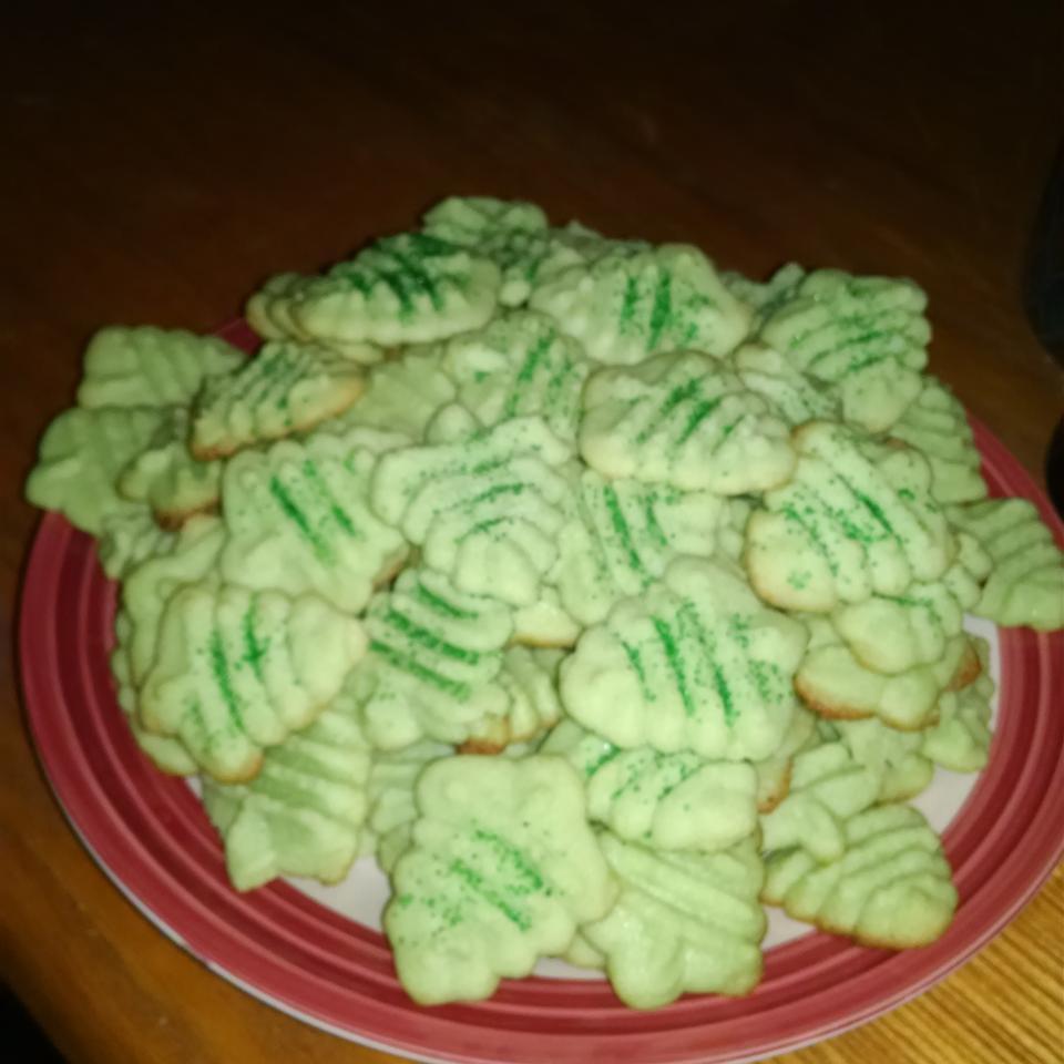 Gelatin Spritz Cookies myoldasskitchen