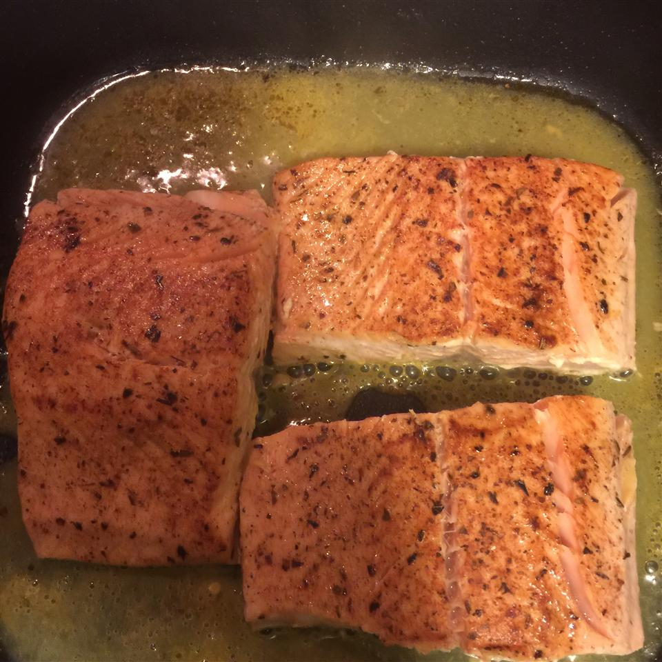 Orange Salmon with Creole Seasoning H Q Whatitdo McCray