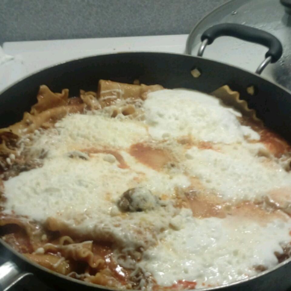 Weeknight Skillet Lasagna