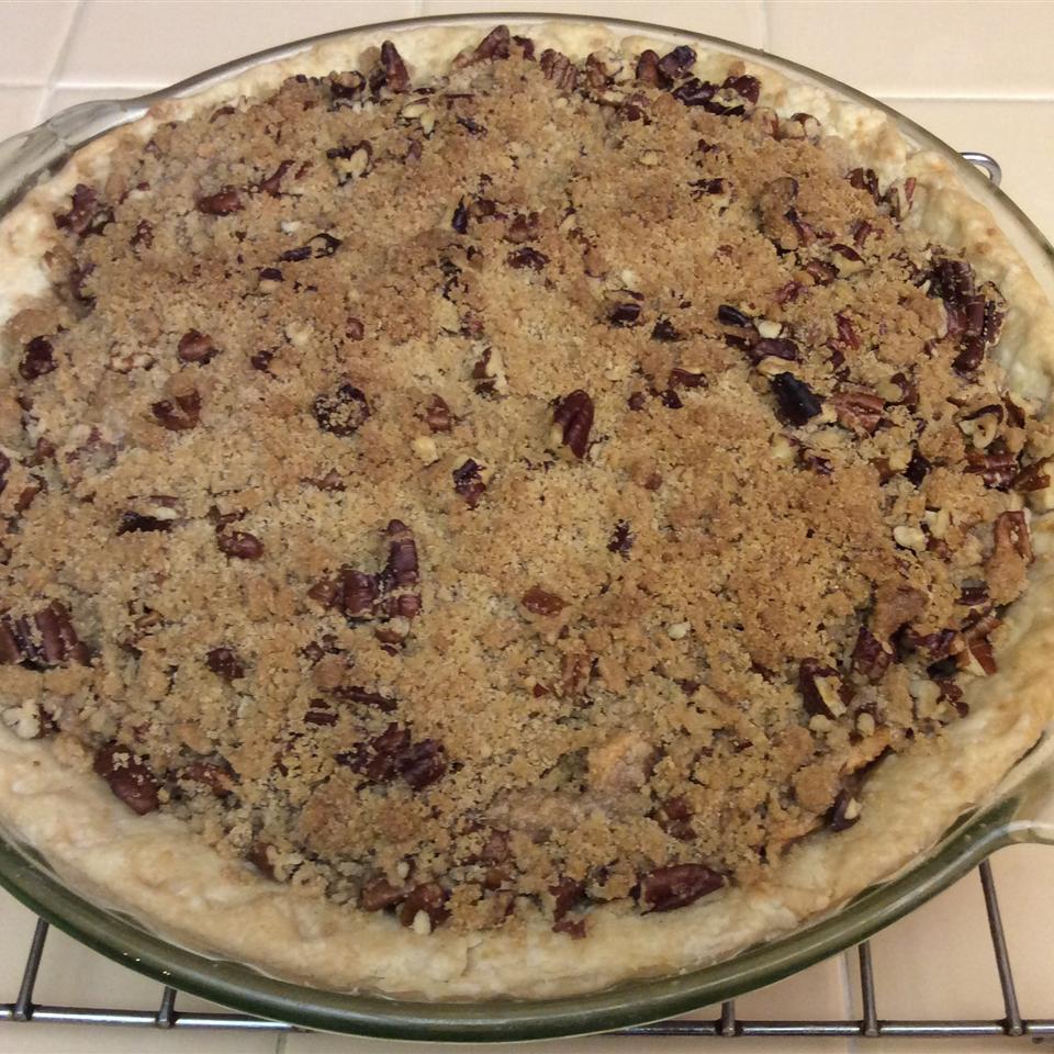 Apple Streusel Pie viola