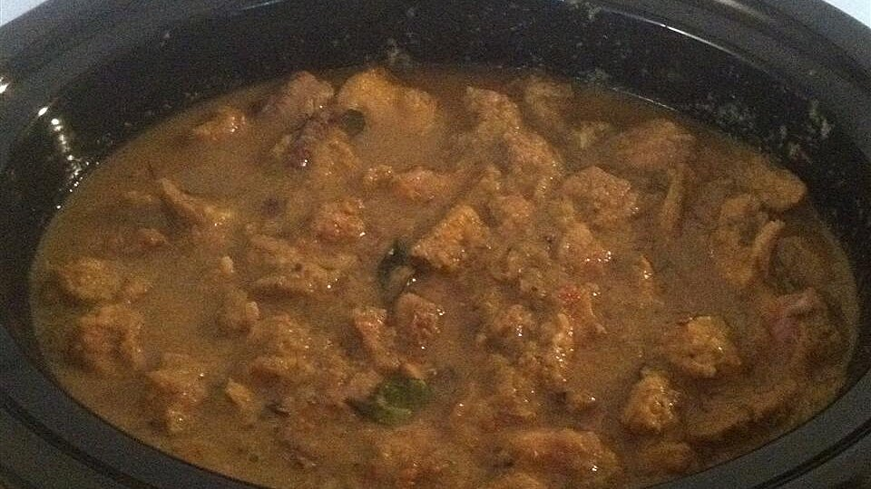 Mutton Varuval (Malaysian Indian-Style Goat Curry)