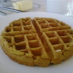 Pumpkin Waffles with Apple Cider Syrup TangerineBliss