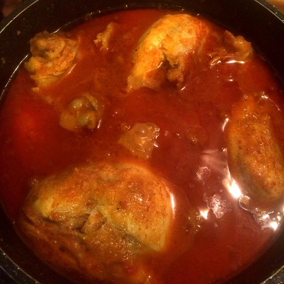 Spicy Chicken Curry sadhna