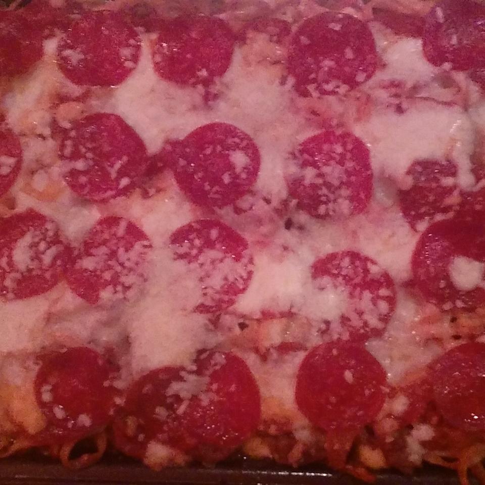 Pizza Spaghetti Casserole Tyrone Smith