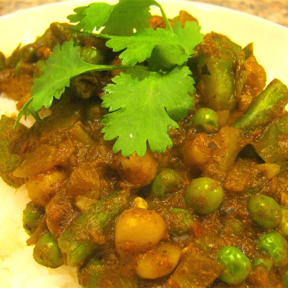 Vegetarian Splendor Chickpea Curry Kooking Kim