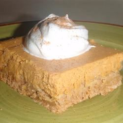 Pumpkin Cheesecake Bars LRB