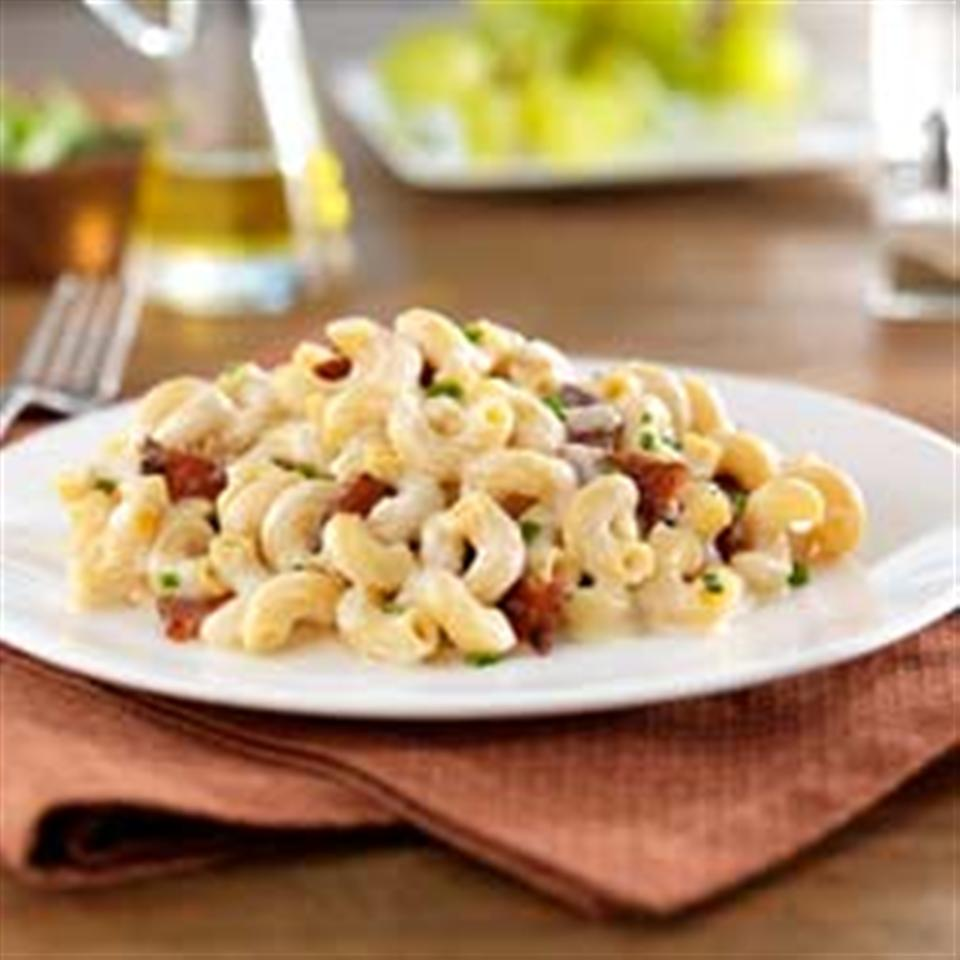 Gluten Free Elbows Fontina Mac and Cheese with Bacon Trusted Brands