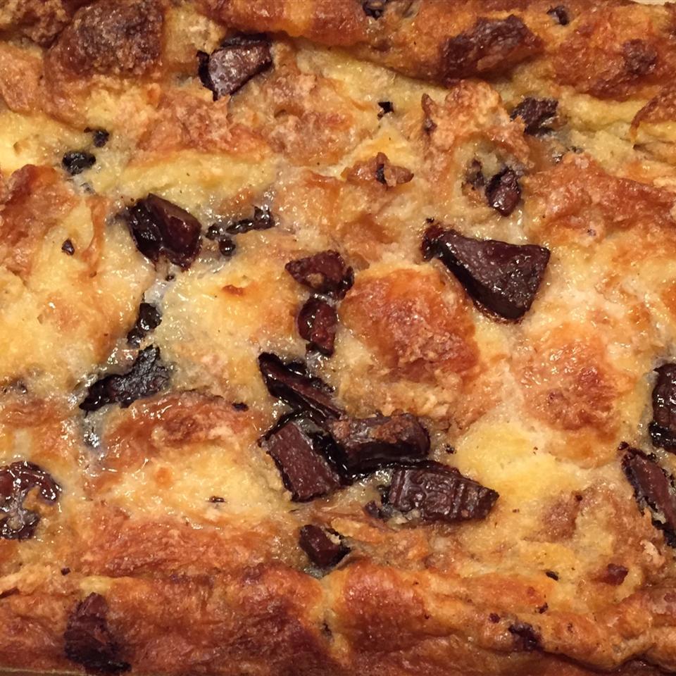 Chocolate Croissant Bread Pudding H. Robert Perdriau